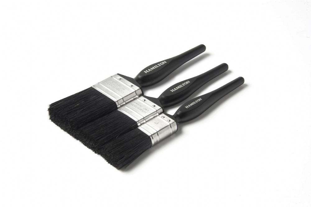 Hamilton Performance Plastic Handle Brush 3 Pack